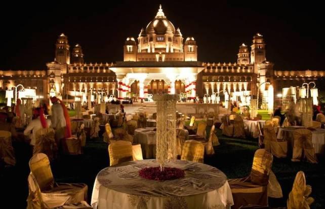 Royal Destination Wedding in india - umaid bhawan