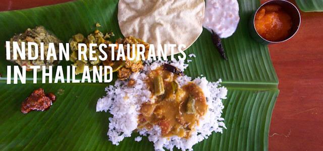 Indian Restaurants in Thailand