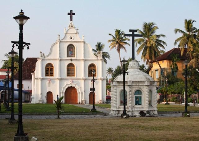 things to do in cochin - catholic church
