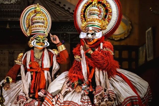 things to do in cochin - kathakai dance