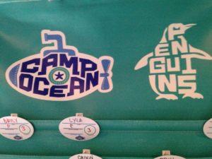 Camp Ocean Sign