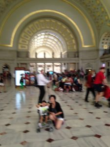 Union Station the Terminus of the DC Circulator National Mall Route