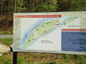 Oconaluftee Island Park in Cherokee
