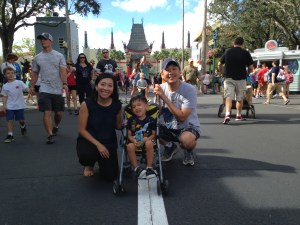 Tyler and Parents at Hollywood Studios