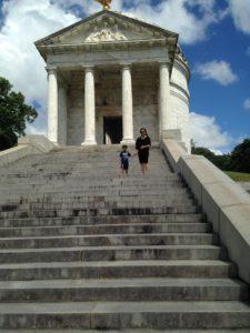 Illinois Memorial in Vicksburg Battlefield