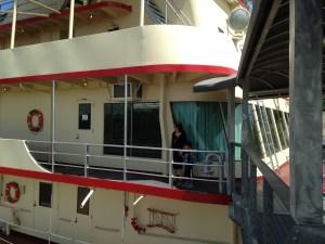M/V Mississippi IV boat in Vicksburg