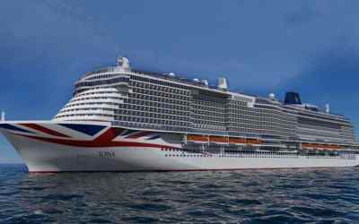 Dame Irene named as godmother to P&O's Iona
