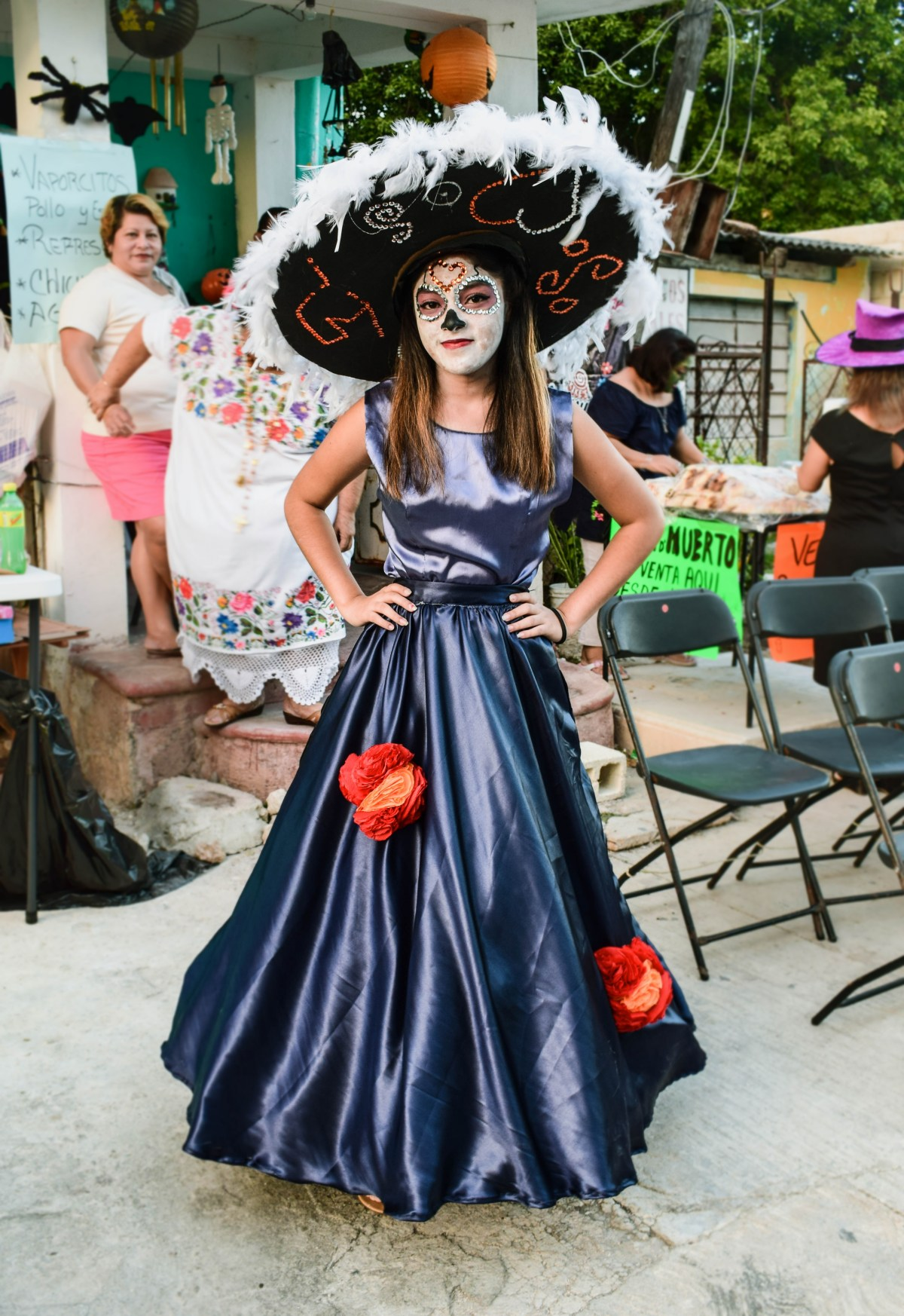 The Day of the Dead outfit