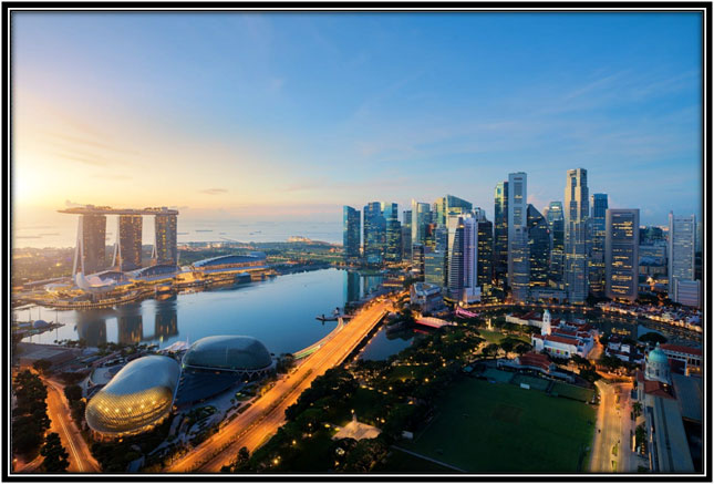 Singapore, a myriad of colors, cultures, and art