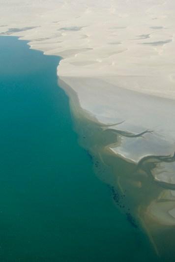 The Skeleton Coast from the air - Photo Credit: Noam Lovinsky/Flickr