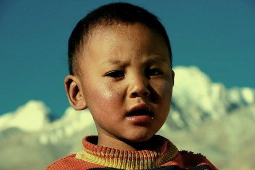 Tibetan Nomadic boy