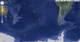 Point Nemo Location - Image Credit: Google Maps