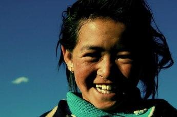 Tibetan Nomadic child