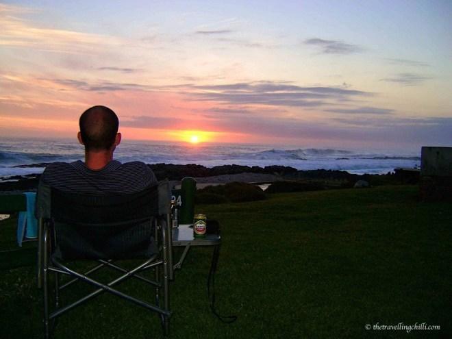sunset south africa tsitsikamma