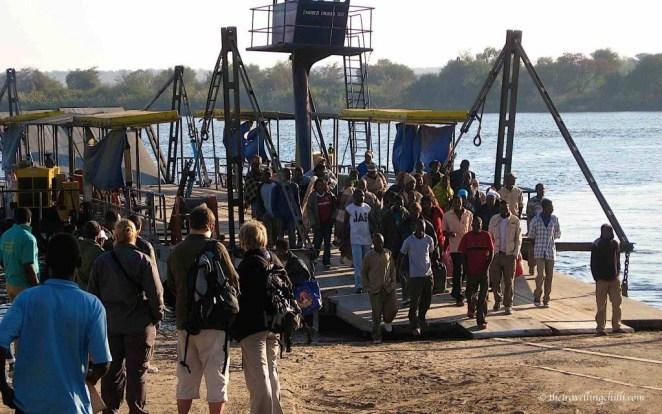 zambia botswana border kazungula ferry