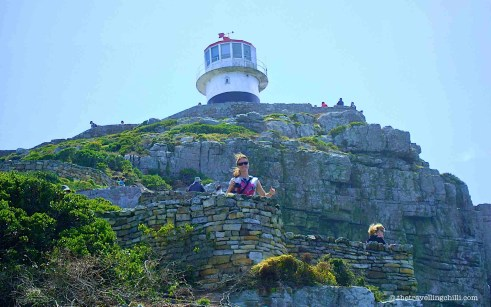 lighthouse cape peninsula point south africa