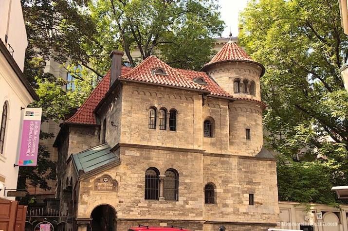 Jewish Quarter in Prague Czech Republic