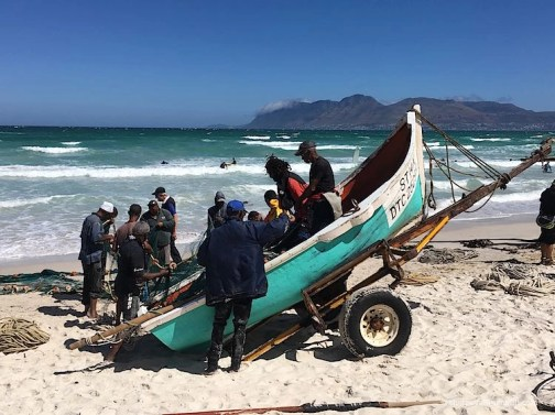 Muizenberg fisherman Cape Town