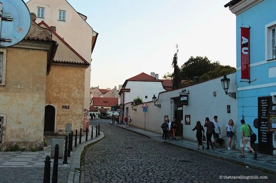 street view Prague Czech Republic