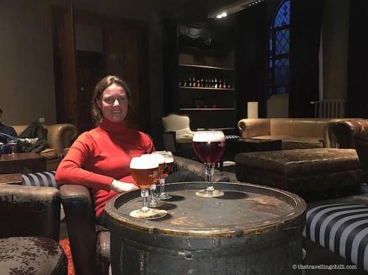 Beer Tasting in Maison Leffe Dinant Belgium