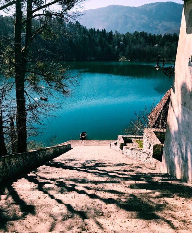 slovenia-lake bled-church