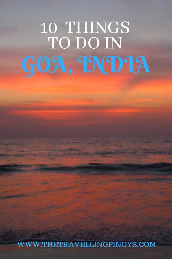 10 Things To Do In Goa India   Goa India travel tips   Goa beaches #india #goa #traveltips #travel