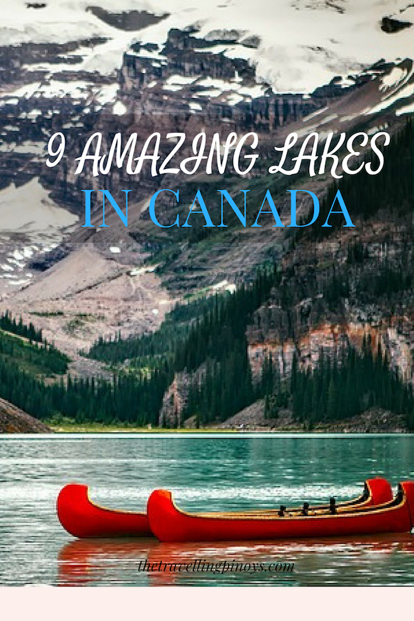 Amazing Lakes In Canada | Canada Lakes | Best Lakes In Canada | Outdoor Travel In Canada | Destinations #canada #destinations #travel