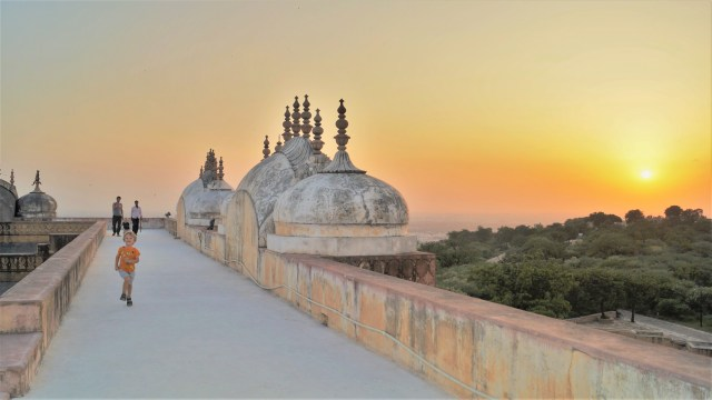 Jaipur sunset