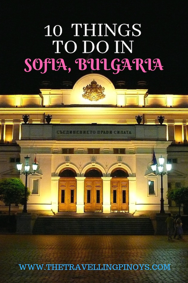 10 TOP THINGS TO DO IN SOFIA BULGARIA | BULGARIA TRAVEL #travel #traveltips