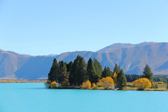 new zealand visa lake benmore