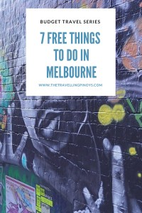 FREE THINGS TO DO IN MELBOURNE   MELBOURNE ON A BUDGET