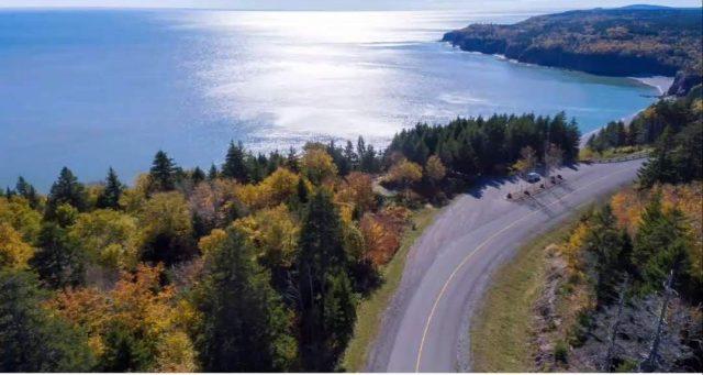 The Bay of Fundy coastal drive