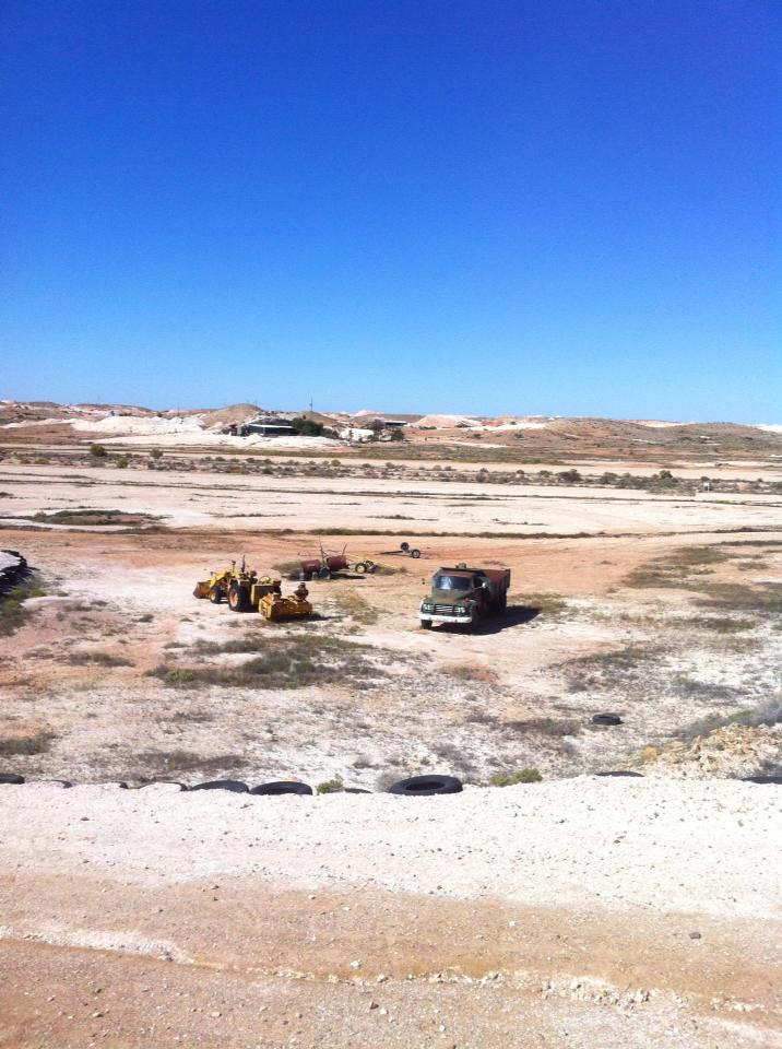 View of the Coober Pedy golf course