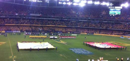 British and Irish Lions in Melbourne