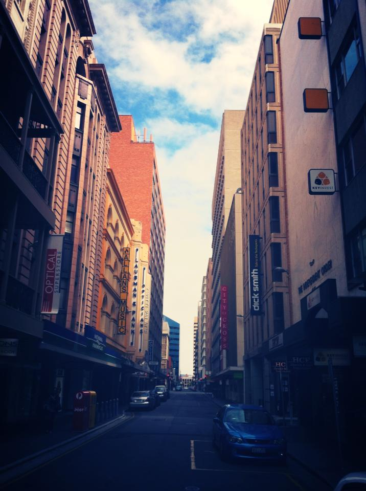 Backpacking Adelaide