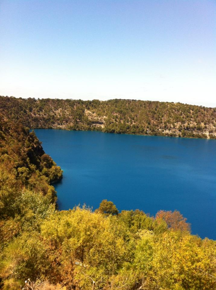 Blue Lake in Mt Gambier