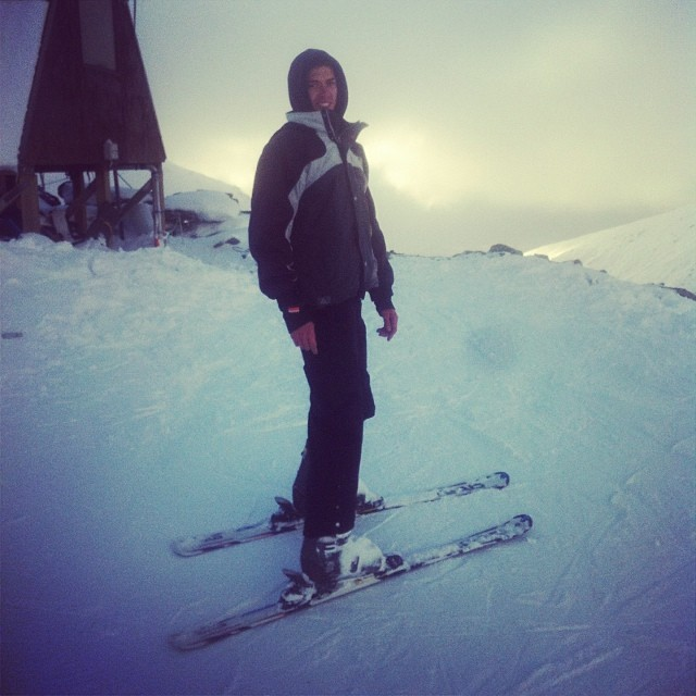 Skiing in Queenstown