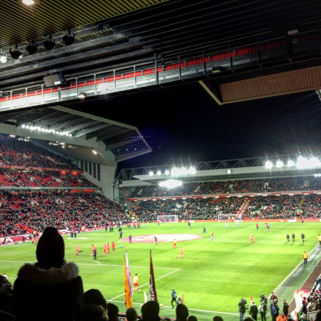 Football at Anfield