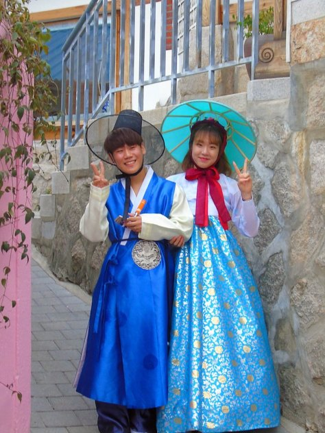 Bukchon Village in Seoul, South Korea