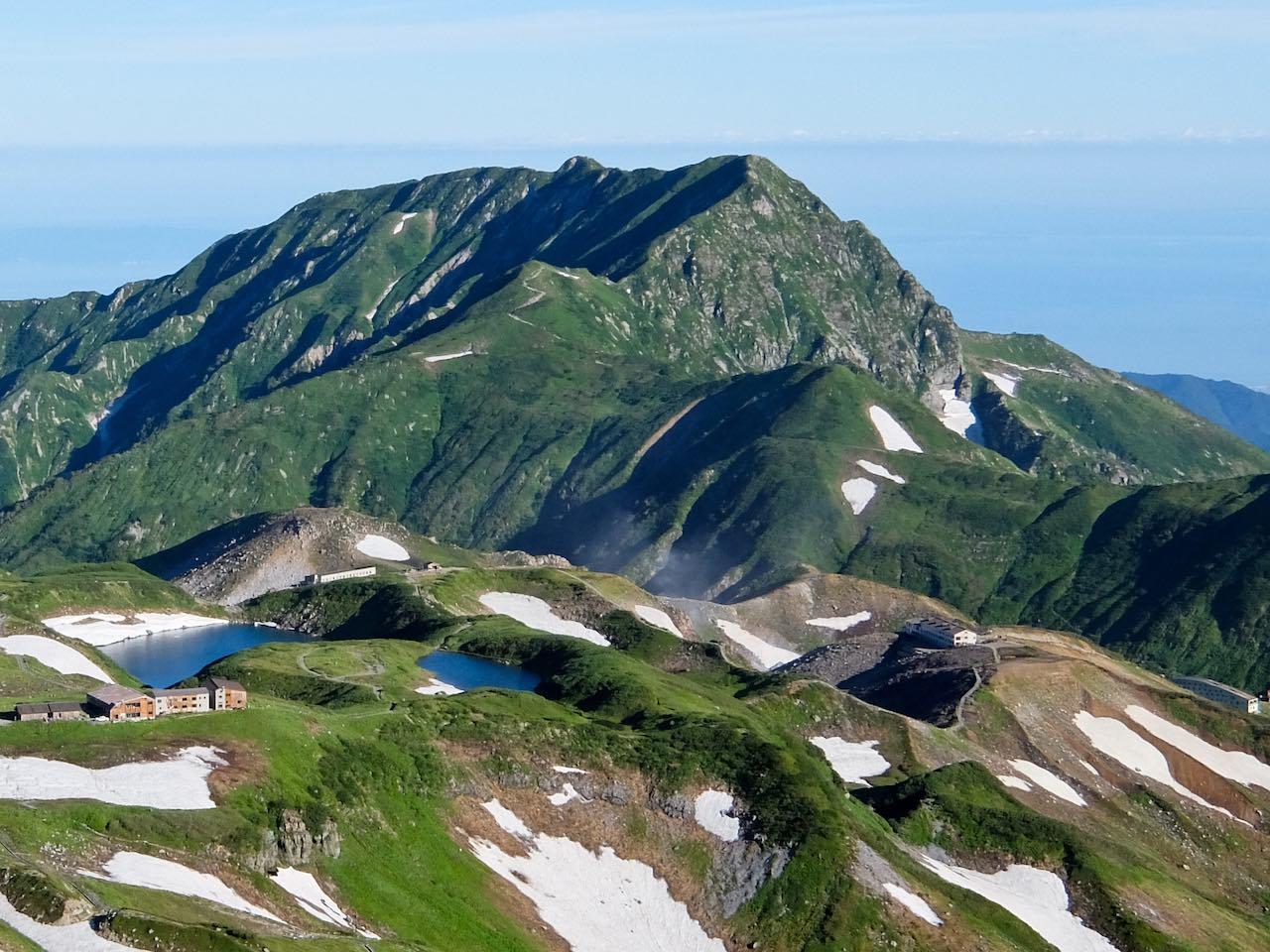 Hiking from Tateyama - Murodo  Hiking from Tateyama across the Northern Japan Alps Hiking from Tateyama Murodo