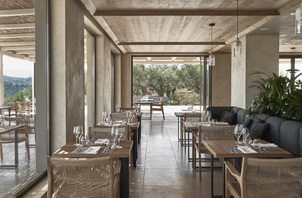 Olea All Suite Hotel - restaurant  Hotel Review:Olea All Suite Hotel,Tsilivi, Zakynthos, Greece Olea All Suite Hotel restaurant