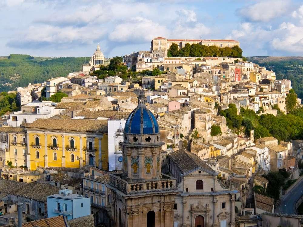Ragusa, Sicily, Italy  Street Travel to the Deep South of Sicily Sicily Ragusa