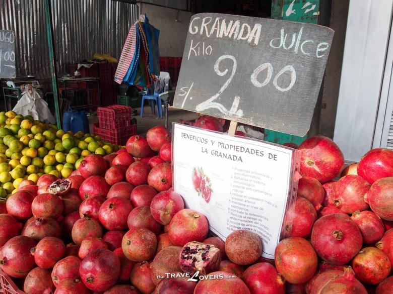 秘魯的生果種類繁多,色彩繽紛,令人垂涎欲滴!