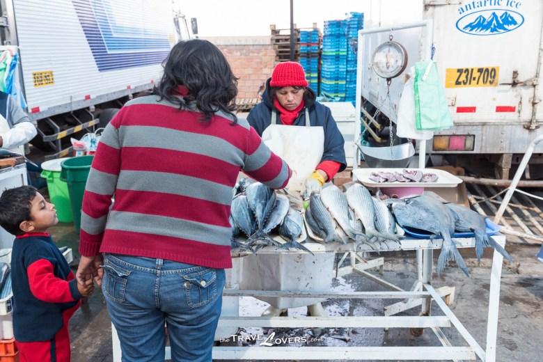 男人負責出外捕魚,女人負責在市場販賣。