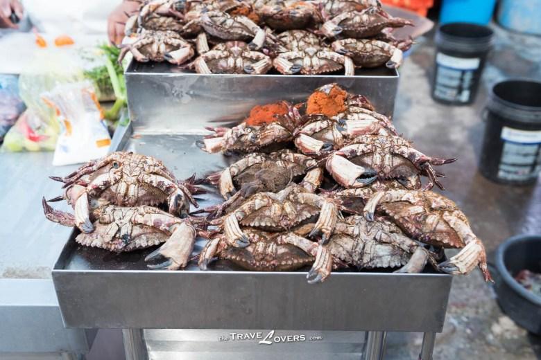 所有海鮮都非常新鮮!