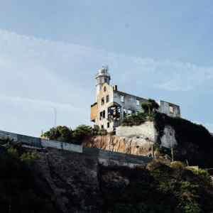 remains of warden's house, alcatraz