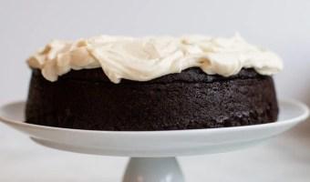 Guinness Beer Dark Chocolate Cake