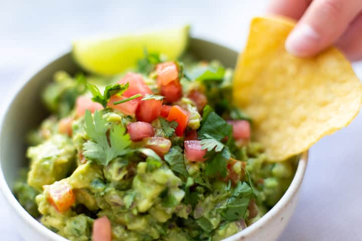 easy homemade mexican guacamole by the travel palate