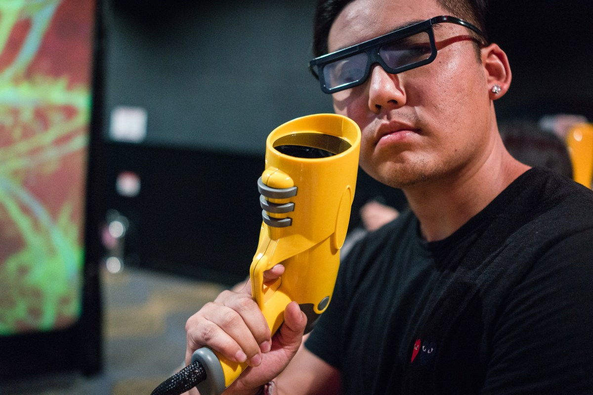 Inside the 4D Shooting Theater