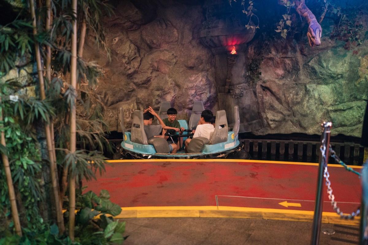 Jungle Adventure Ride at Lotte World